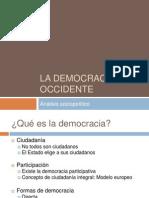 3. Democracia en Occidente