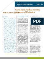 Cambios en Politica de TURISMO Prisma