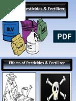 Effects of Pesticides & Fertilizer