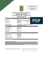 Estado de situación  (Informe Anual F.U.P.O)