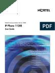 Nortel IP Phone 1120E User Guide