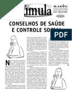 Conselhos de saúde e controle social