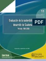 Evaluacion de La Sostenibilidad Del Desarrollo en Guatemala