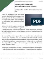 Empresas identifican mayores trabas a la contratación que tiene modelo laboral chileno | Negocios | La Tercera Edición Impresa