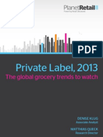 Private Label 2013