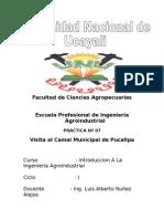 Informe Camal Municipal