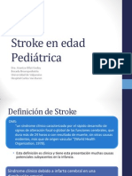 Stroke en edad Pediátrica