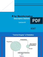 R for Bioinformatics Lec 01 Descriptive Statistics