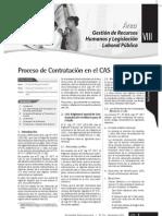 PROCESO DE CONTRATACIÓN EN EL CAS