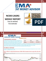 Ncdex Weakly Report 8 Jun