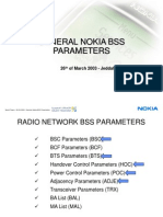 General Nokia BSS Parameters