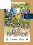 The Phases of Stewardship in Cebu's Terrestrial KBA's