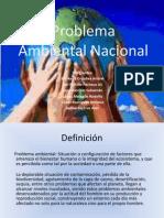 Problema Ambiental Nacional(1)