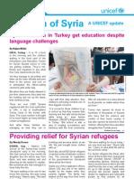 Children of Syria Newsletter- 6 June 2013