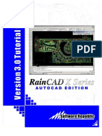 RainCAD X Series 3.0 Manual