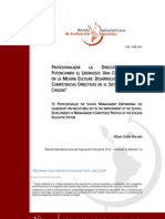 Articulo Liderazgo y Direccion Escolar Ok