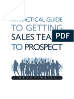 Prospecting Sales Team