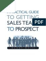 Prospecting Sales Team