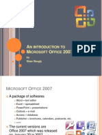 An Introduction to Microsoft Office