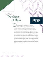 The Origin of Mass - Wilczek