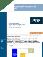 Introduzione alla valutazione dei brevetti