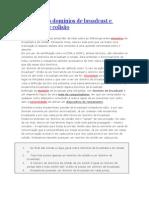 Broadcast e Colis�o.doc