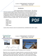 Priliminary concept of Structural Analysis