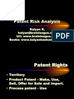 Patent Infringement Analysis