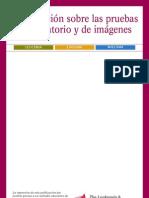 Información sobre las pruebas de laboratorio y de imágenes
