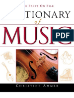 Dictionary of Music by Christine Ammer