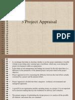 Project Appraial