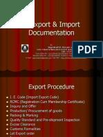 Export & Import Documentation