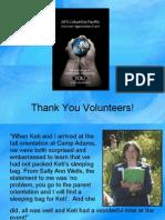 AFS Volunteer Appreciation Event 2009