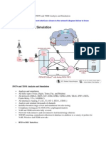 PSTN and TDM Analysis and Simulation