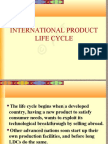 International Product Life Cycle