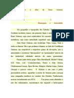 Como estudar a obra de René Guénon
