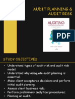 Chap 8&9 - Audit Planning & Risk