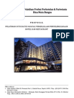 Proposal Penyelenggaraan Hotel & Penginapan