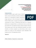 Proyecto Cantarte