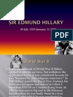 Sir Edmund Hillary Tim Christoph Gio Tom