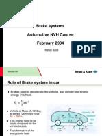 1 Brake System Session