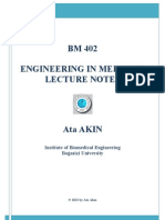 BM 402 Lecture Notes 2013