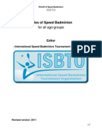 Speedmintno Match Rules (Revised 2011)