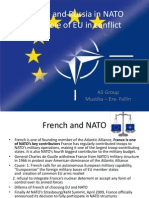 A5. France and Russia in NATO & EU in Conflict