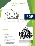 Understanding the Economics of Halal Tourism
