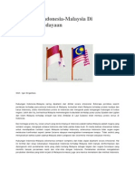 Hubungan Indonesia n Malaysia (Artikel)