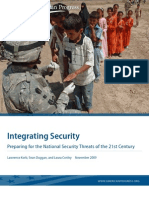 22992589 Integrating Security Preparing for the National Security Threats of the 21st Century