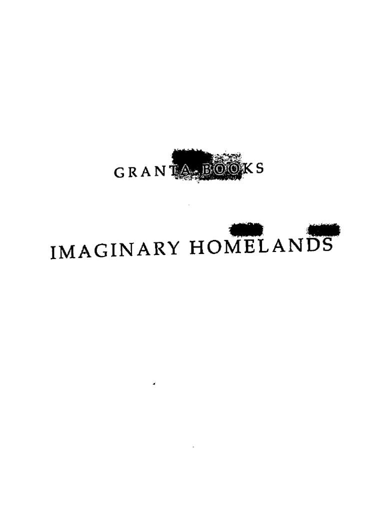 Salman Rushdie-Imaginary Homelands-Random House Publishers India Pvt. Ltd.  (2010) | Secularism | Translations