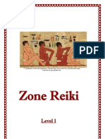 Zone Reiki Level 1