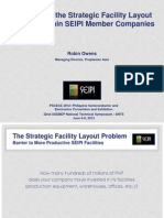 The Strategic Facility Layout Problem - Asia